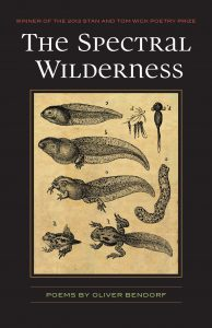 The Spectral Wilderness by Bendorf, book cover